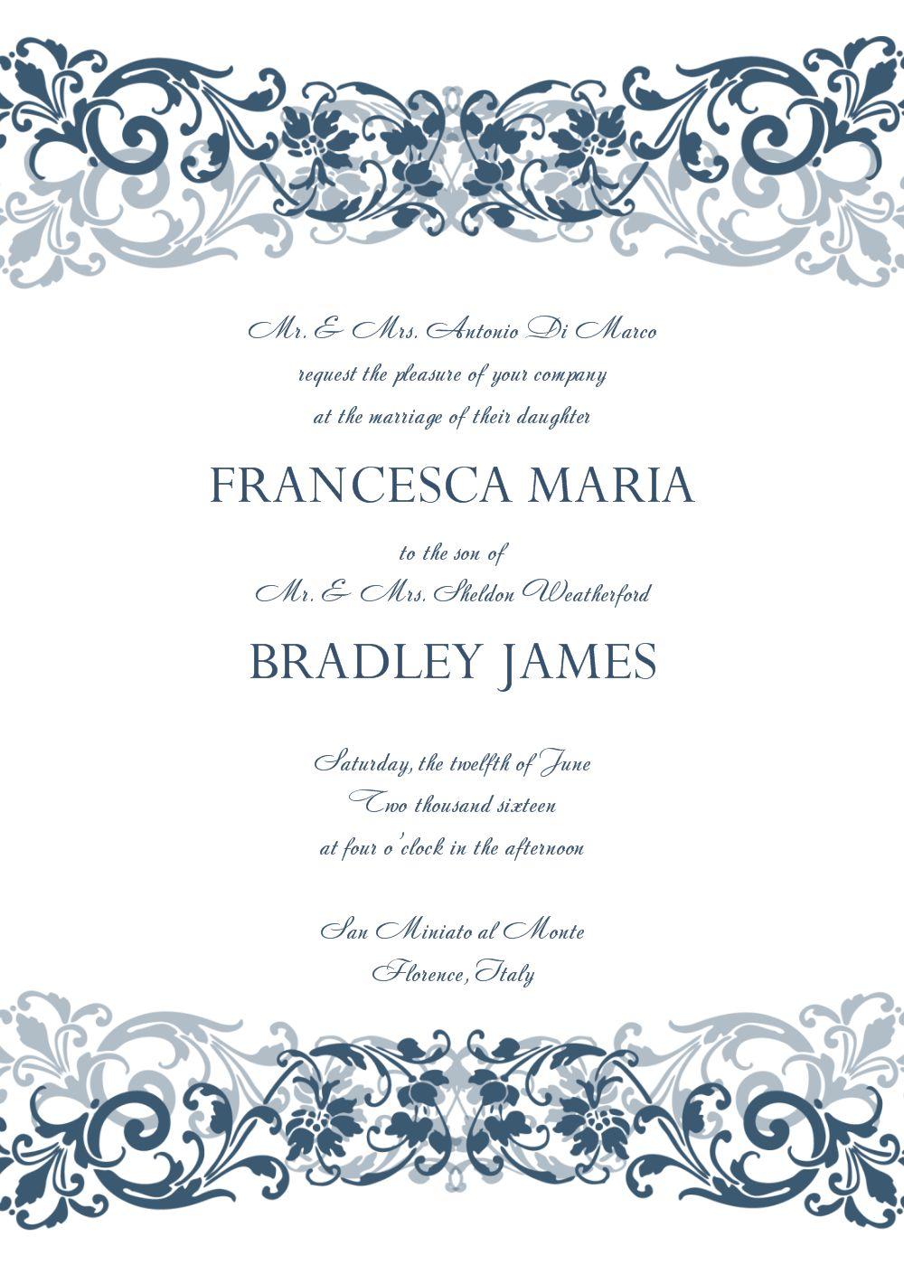 invitation card : Free Photo Invitation Templates.