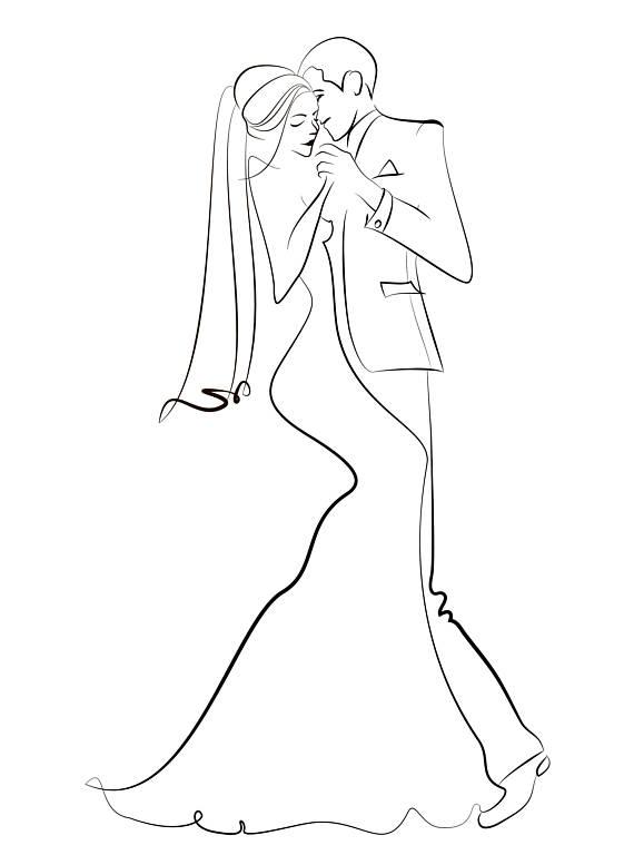 Wedding Clip Art, Vector Wedding Clipart, Instant Download.