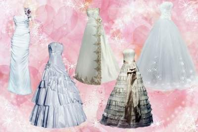 Wedding Clipart PSD Wedding Dress free download. PSD file.