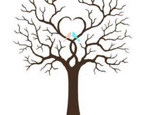 wedding tree template.