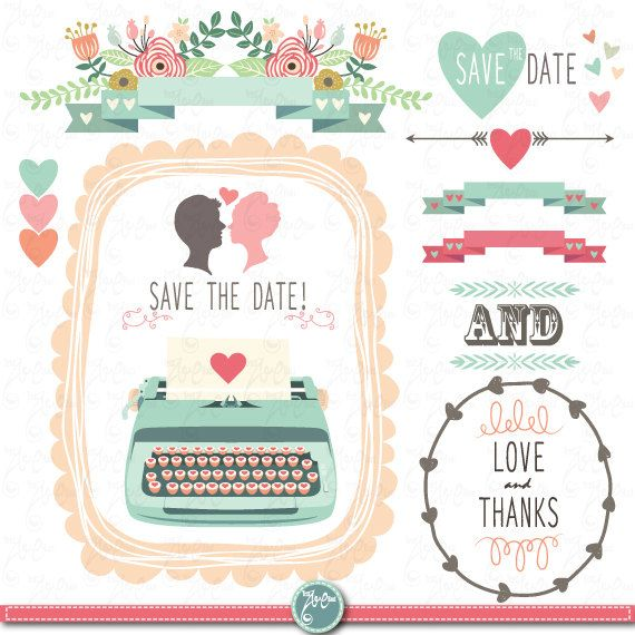 17 Best images about wedding clipart on Pinterest.