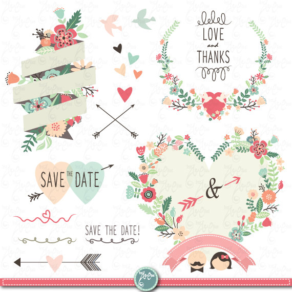 Wedding Clipart Design