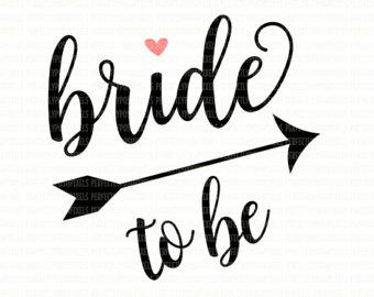 Bride Word Clipart.
