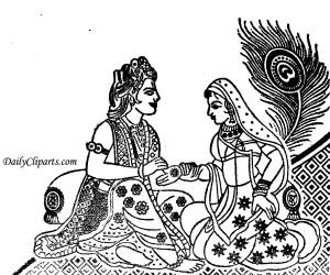 Hindu Wedding Cliparts Board by Anaya.