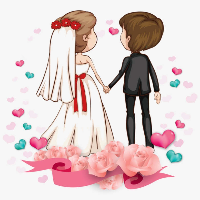 Wedding Couple Clipart Free Download.