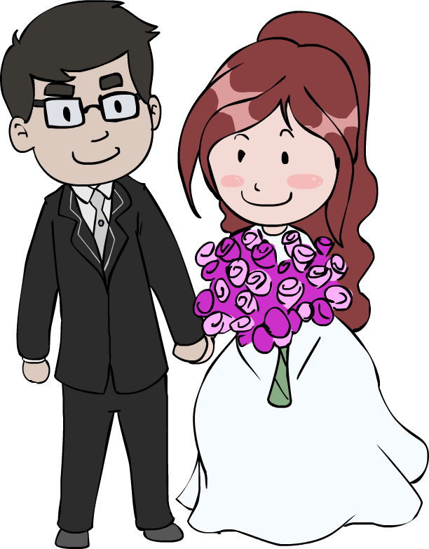 Free Wedding Couple Cartoon, Download Free Clip Art, Free.