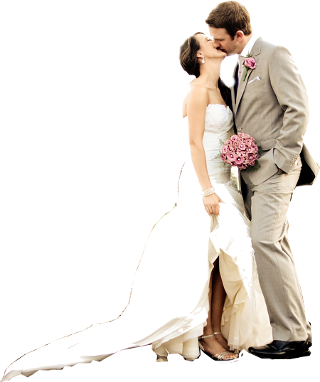 Wedding Couple PNG Clipart.