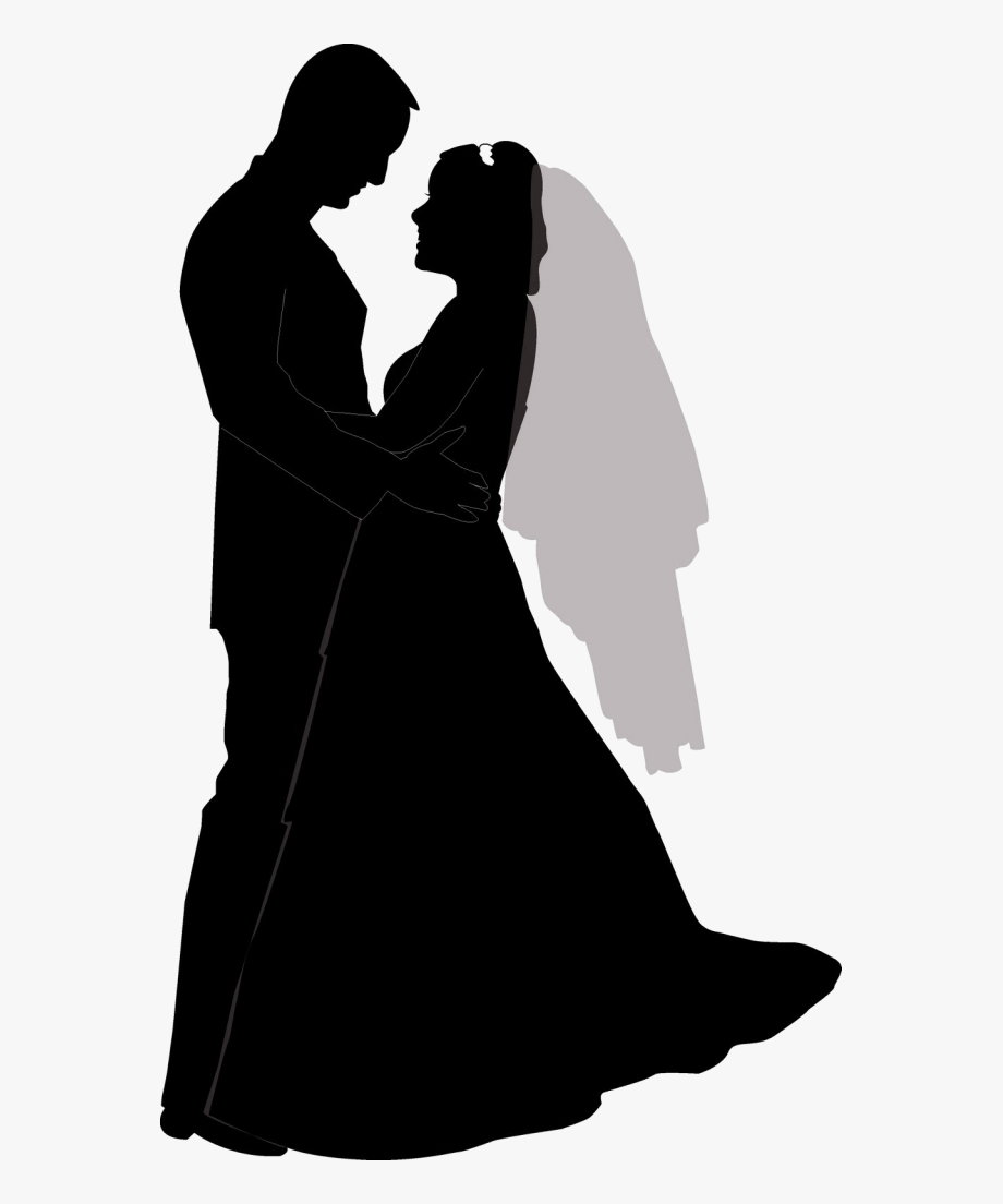 Wedding Silhouette Png.