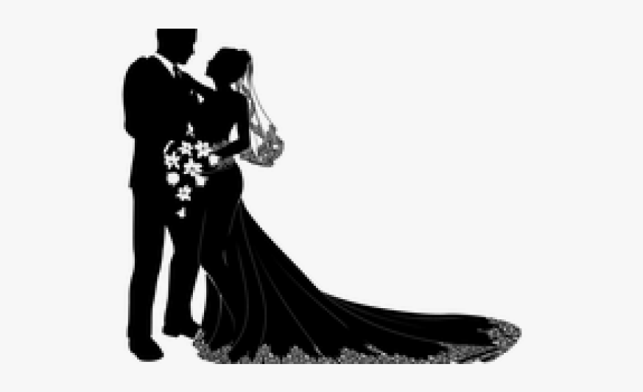 Wedding Dress Clipart Gambar.