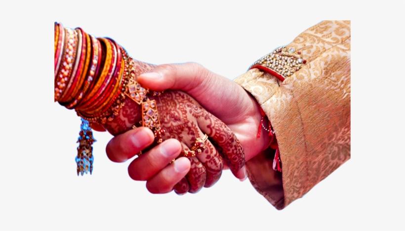 Wedding Couple Hand Png Image.