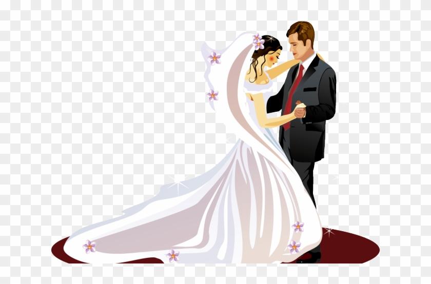 Bride Clipart Ballroom Dress.