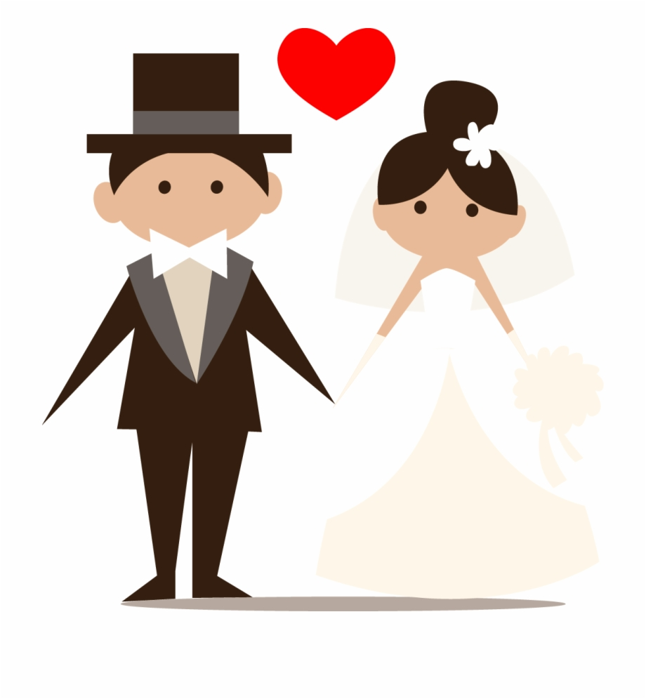Graphic Black And White Church Wedding Clipart.