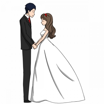 Wedding Couple Png, Vector, PSD, and Clipart With.
