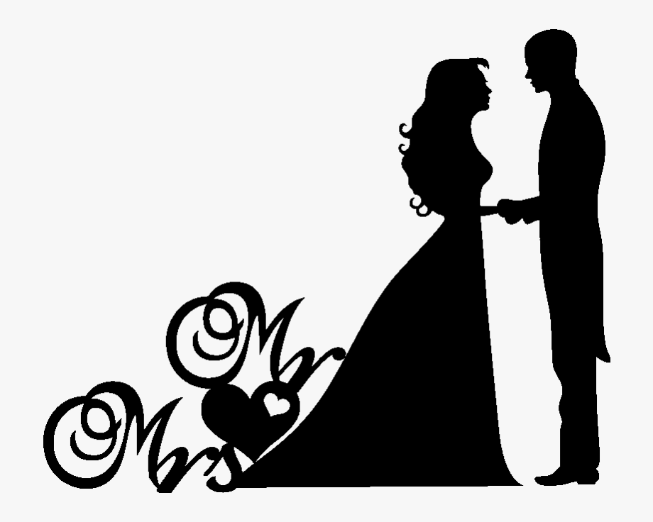 Wedding Couple Clipart Png , Png Download.