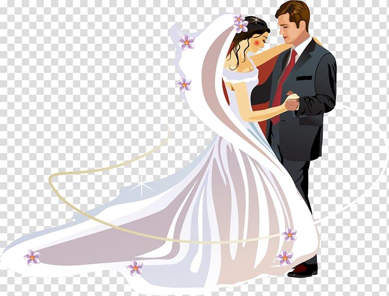 Bride and groom sticker, Wedding invitation Bridegroom.