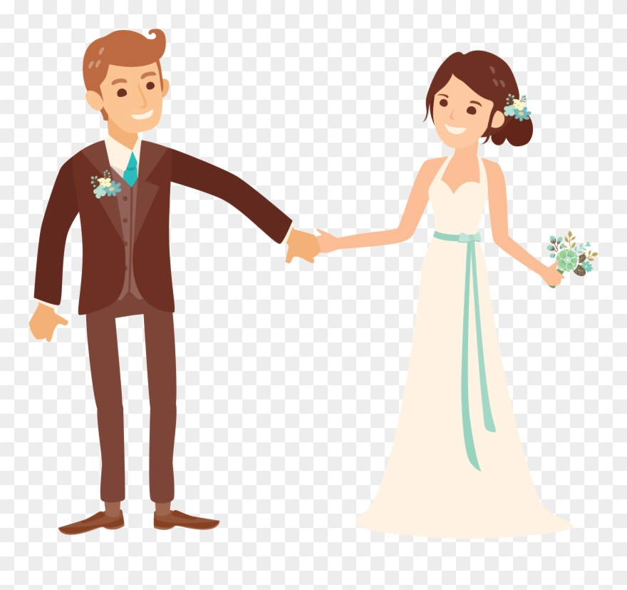 Married Couple Png.
