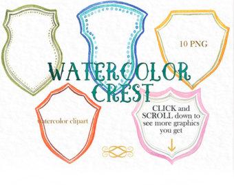 wedding crest clipart #1