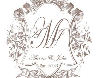 Wedding crest.