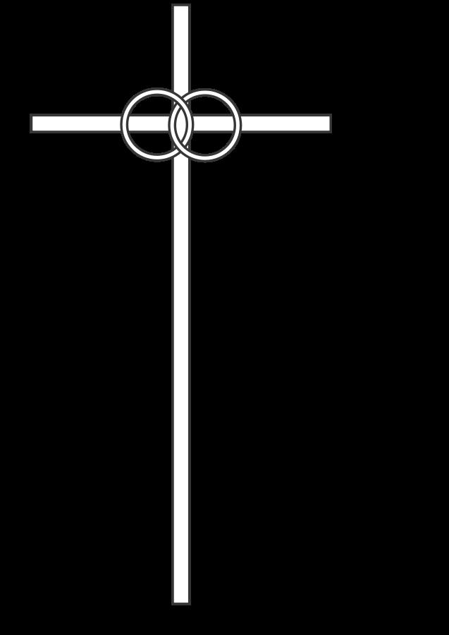 Wedding Cross Clipart, Vector Clip Art Online, Royalty Free.