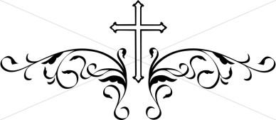 Wedding Cross Cliparts.