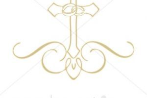 Wedding rings and cross clipart » Clipart Portal.