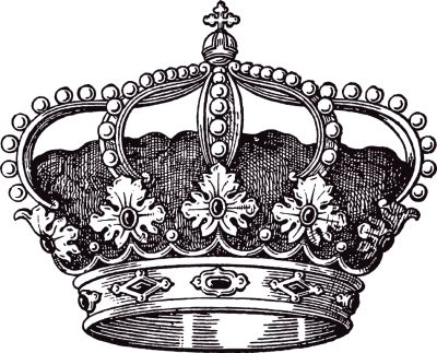 wedding crown clip art.