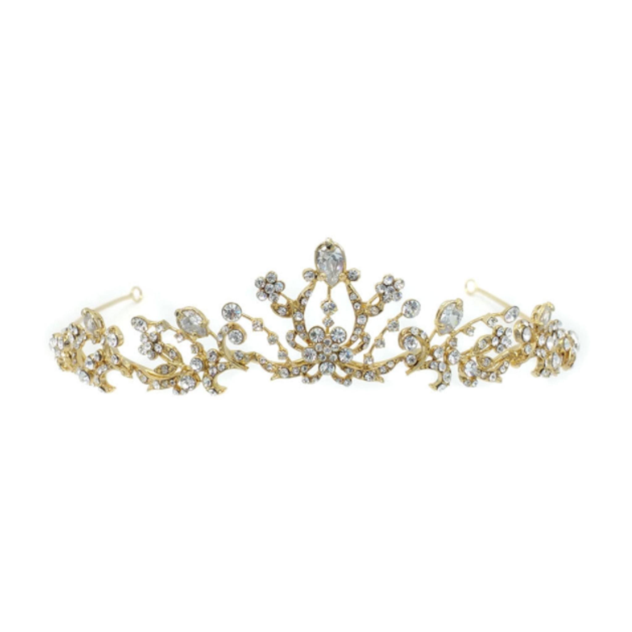 Lucetta bridal headpiece.