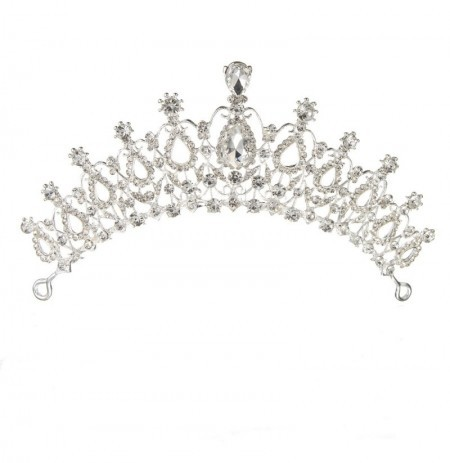 Bride Rhinestone Crystal Tiara Crown Princess Queen Wedding Bridal Party  Prom Headpiece.