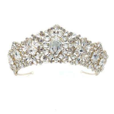 Madonna Bridal Crown (Gold).