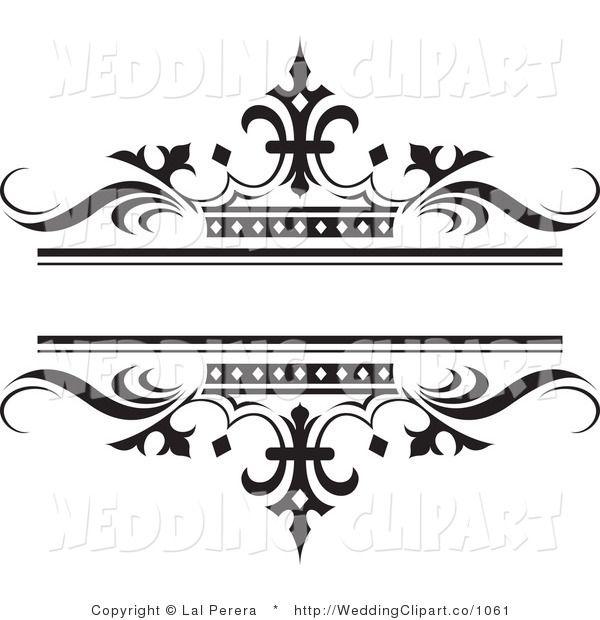 Clip Art Wedding Design Clipart.
