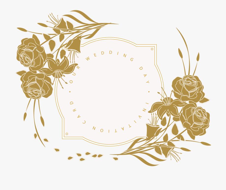 Invitation Floral Design Card.
