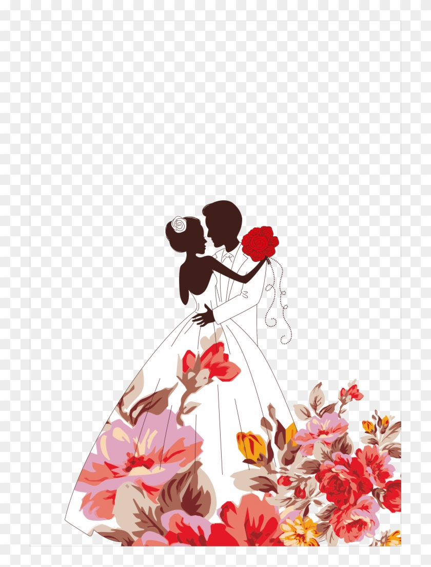 Wedding Design Vector.