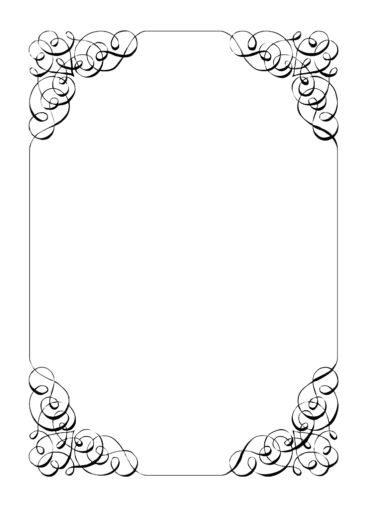 Download Free png Wedding Invitation Border PNG File.