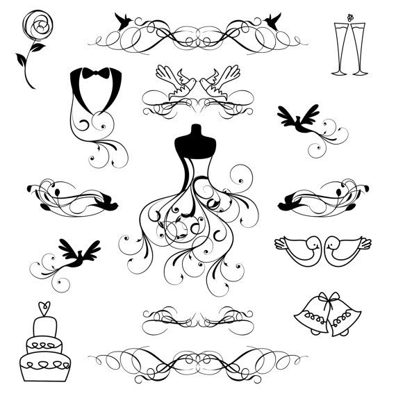 Free Wedding Line Cliparts, Download Free Clip Art, Free.
