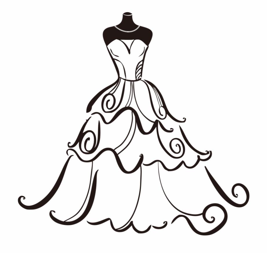Banner Free Dress Bride Clip Art Transprent.
