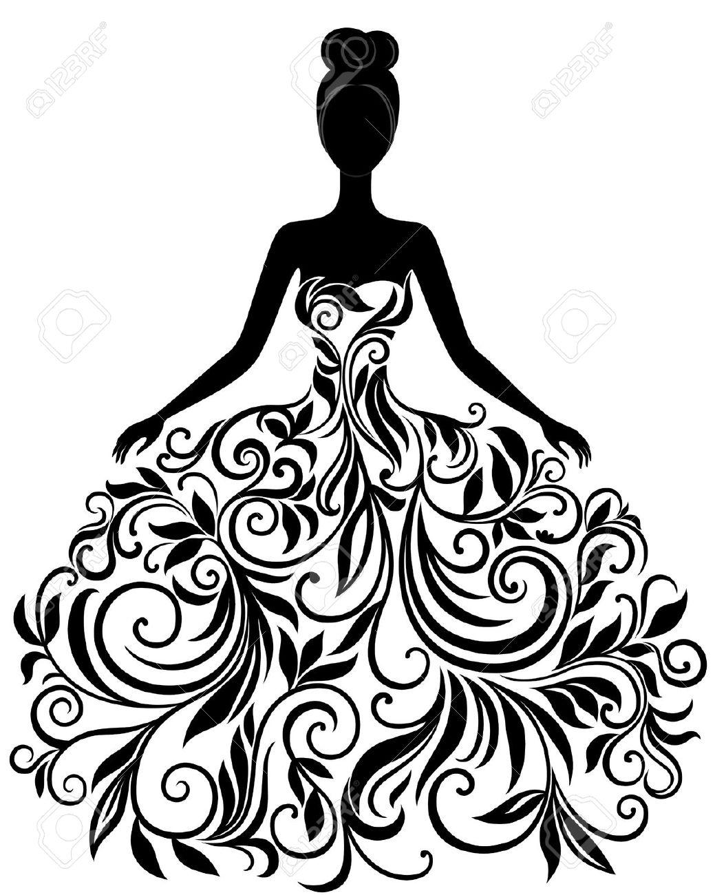 Wedding Dress Clip Art Photo Album.