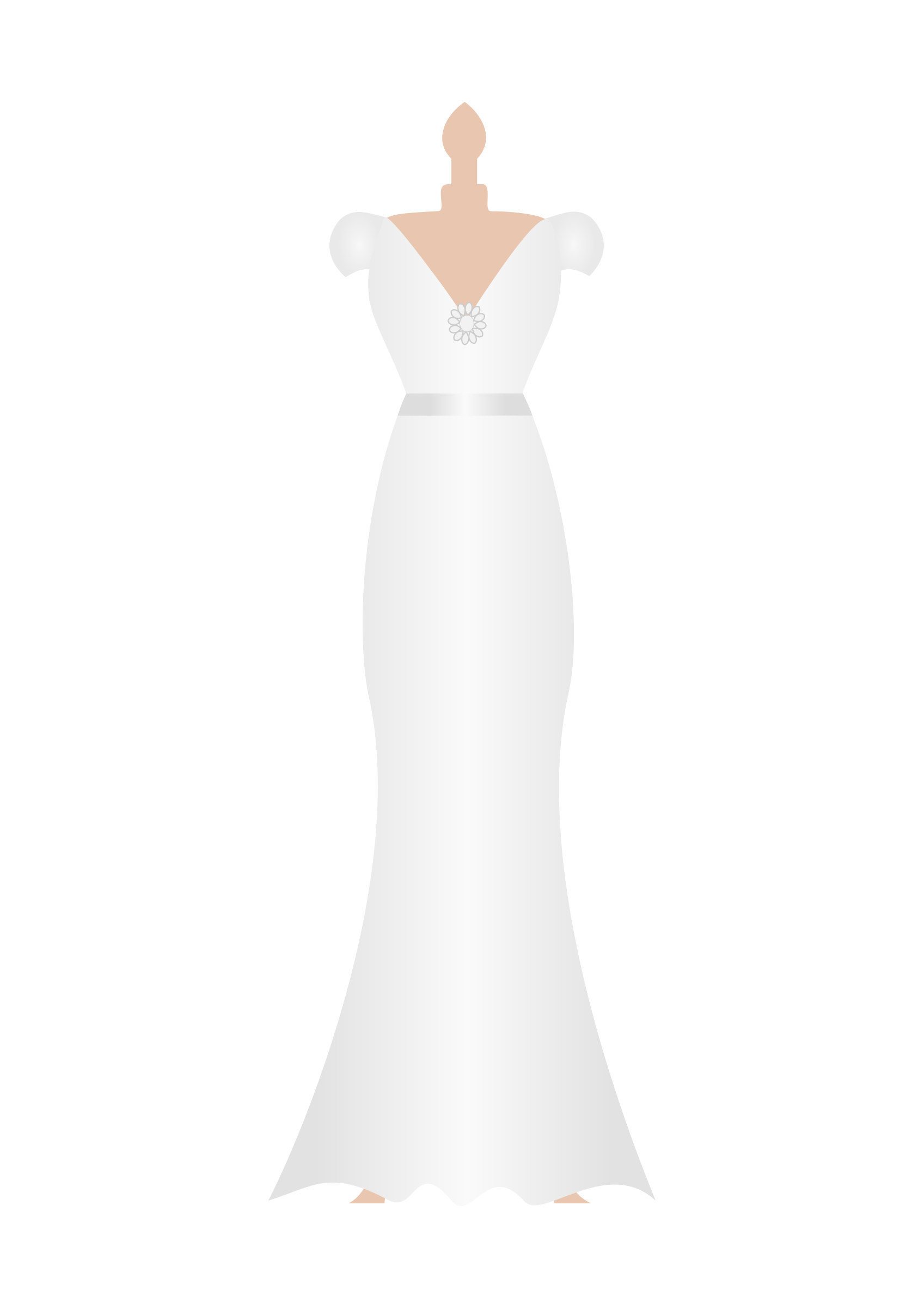 Wedding dress clipart png.