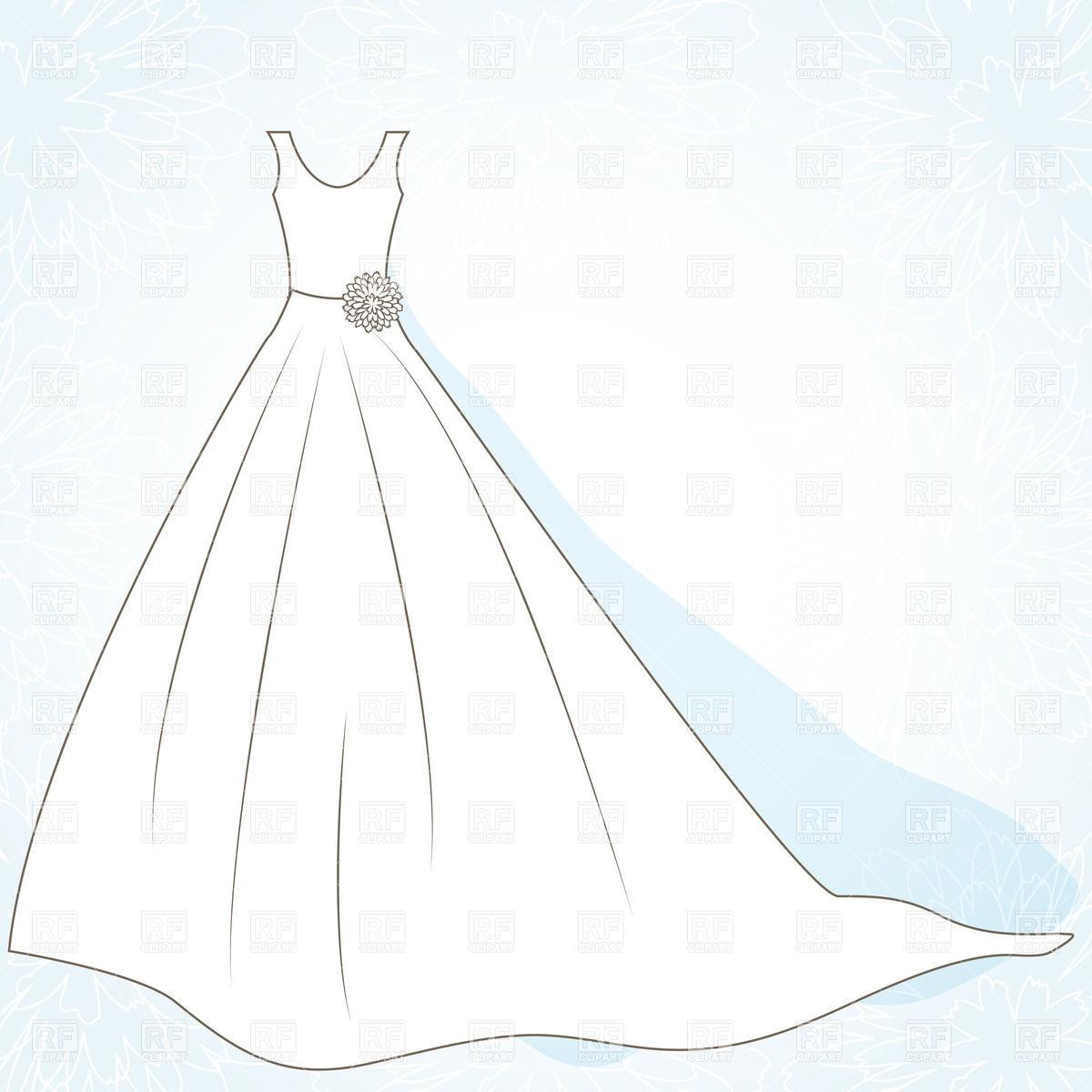 Wedding Dress Clip Art & Wedding Dress Clip Art Clip Art Images.
