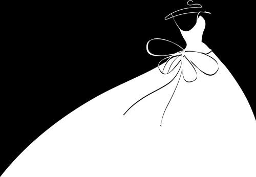 Wedding dress vector free vector download (2,182 Free vector.