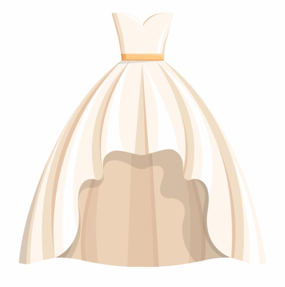 Dress Wedding Free Png Hq Clipart.