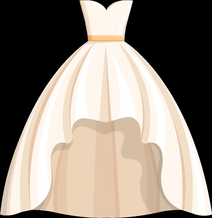 HD Dress Wedding Free Png Hq Clipart.