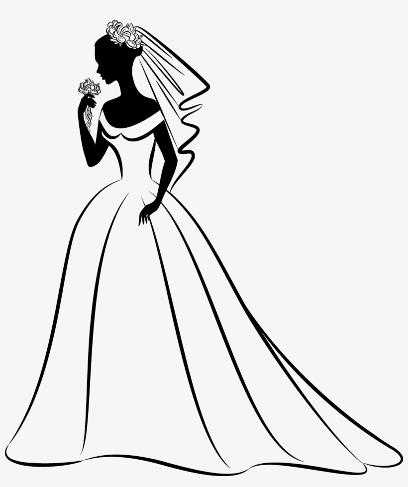 Wedding Dress Clipart Png Download.