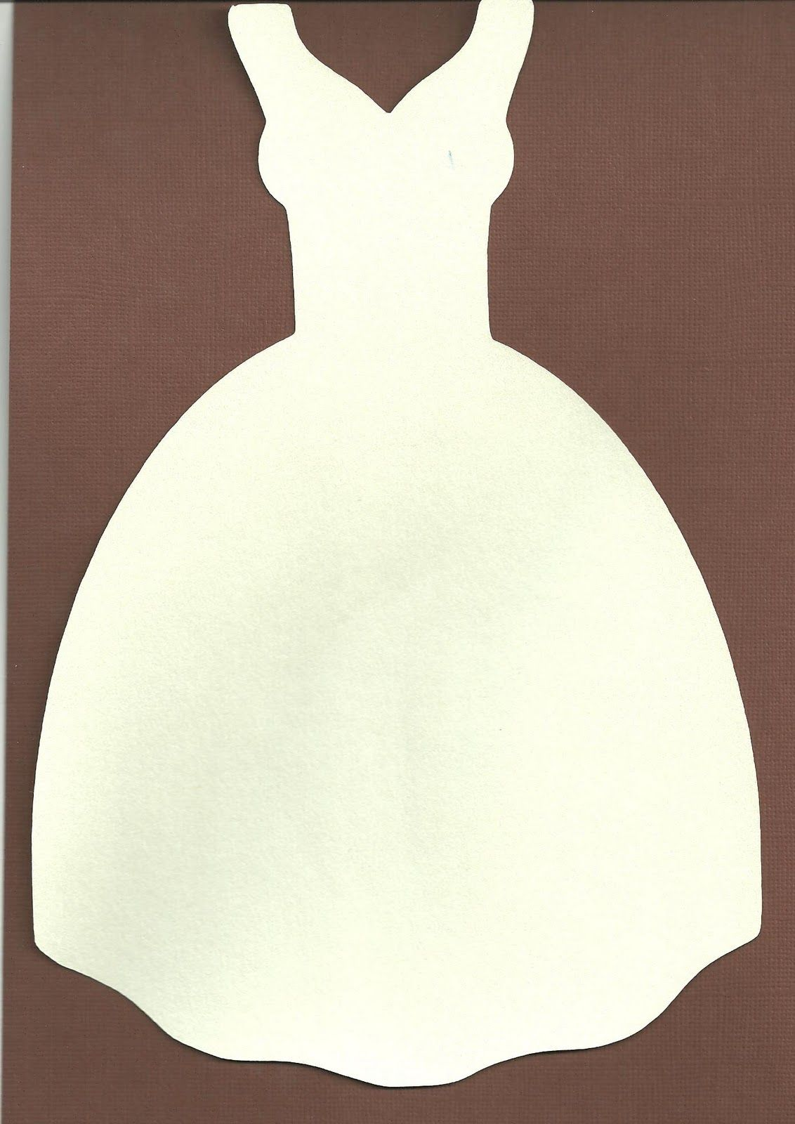 Wedding Dress Silhouette Svg.