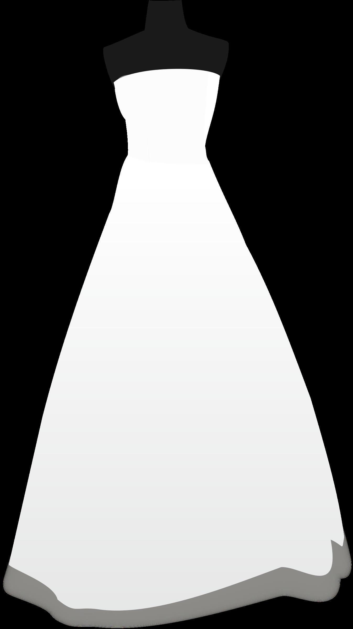 Wedding Dress Clipart No Background.