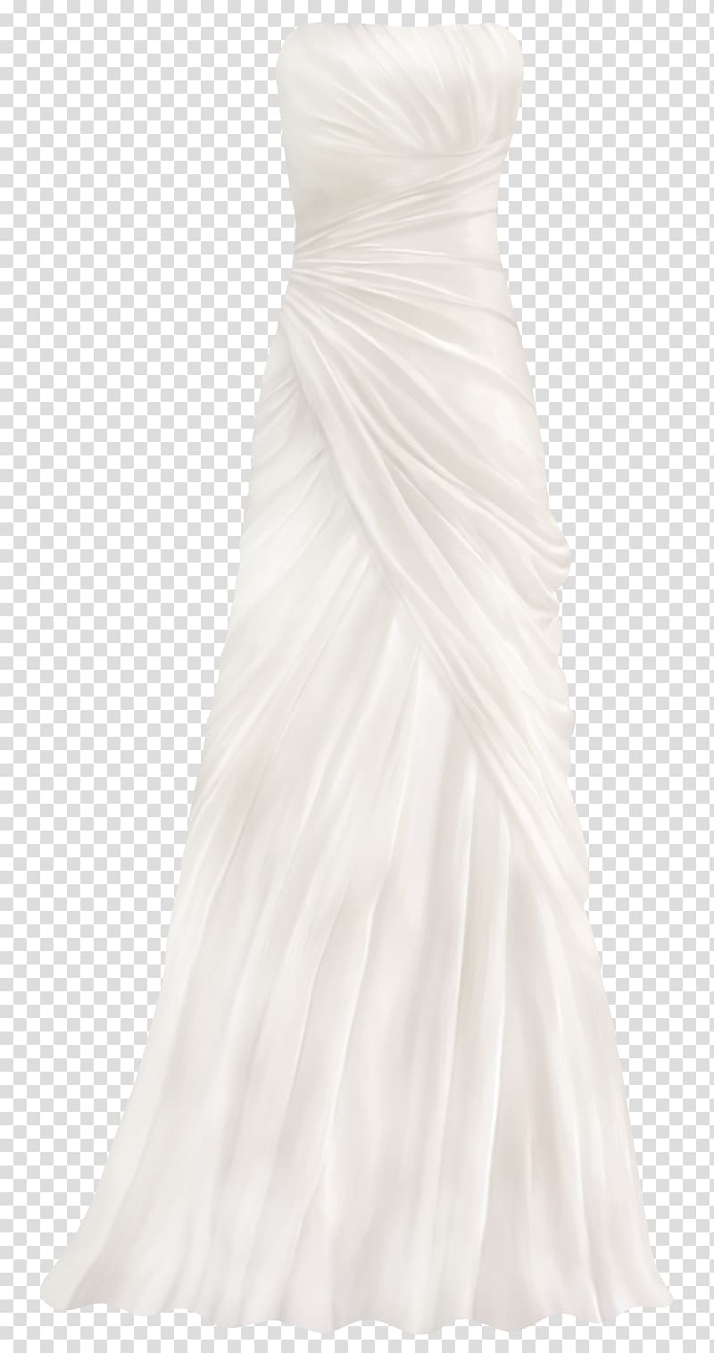 Wedding dress Clothing Gown Bridesmaid, dress transparent.