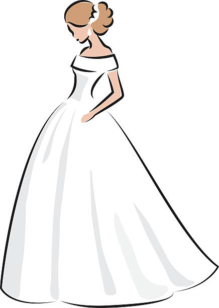 9484 Dress free clipart.