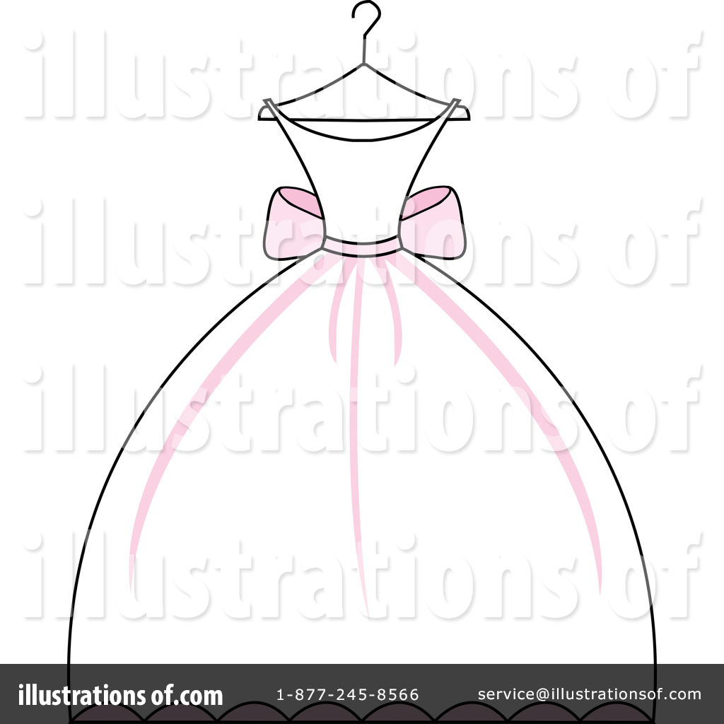Wedding Dress Clipart #97051.