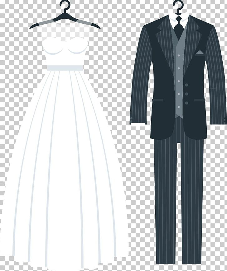 Wedding Invitation Tuxedo Wedding Dress PNG, Clipart, Black.