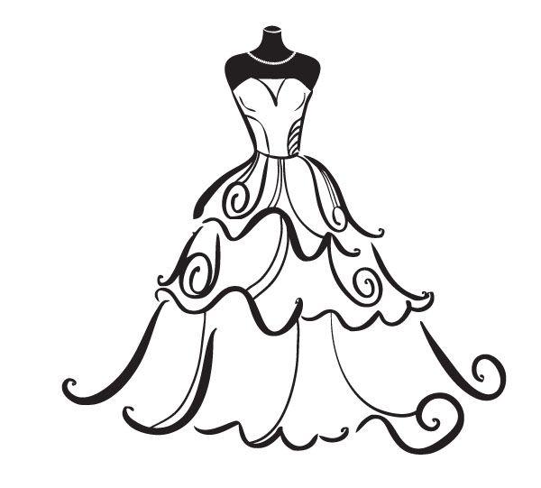 Wedding Dress Clipart Free.