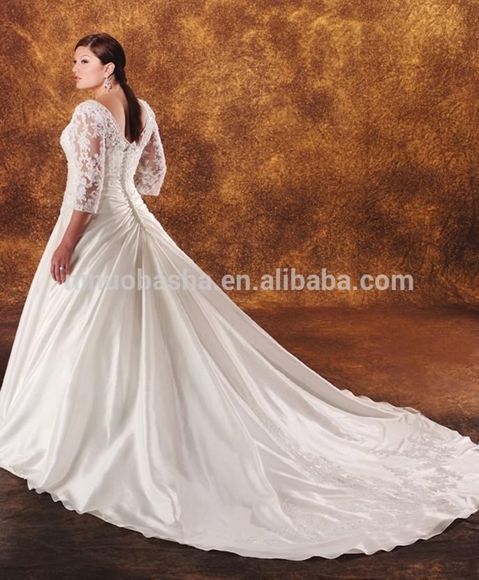 Long sleeve wedding dress clipart.